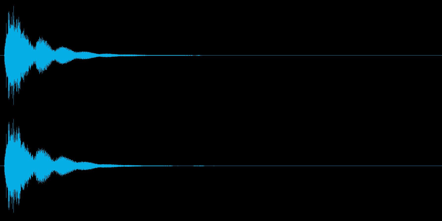 連鎖/パズルゲーム/コンボ/3段階目の再生済みの波形