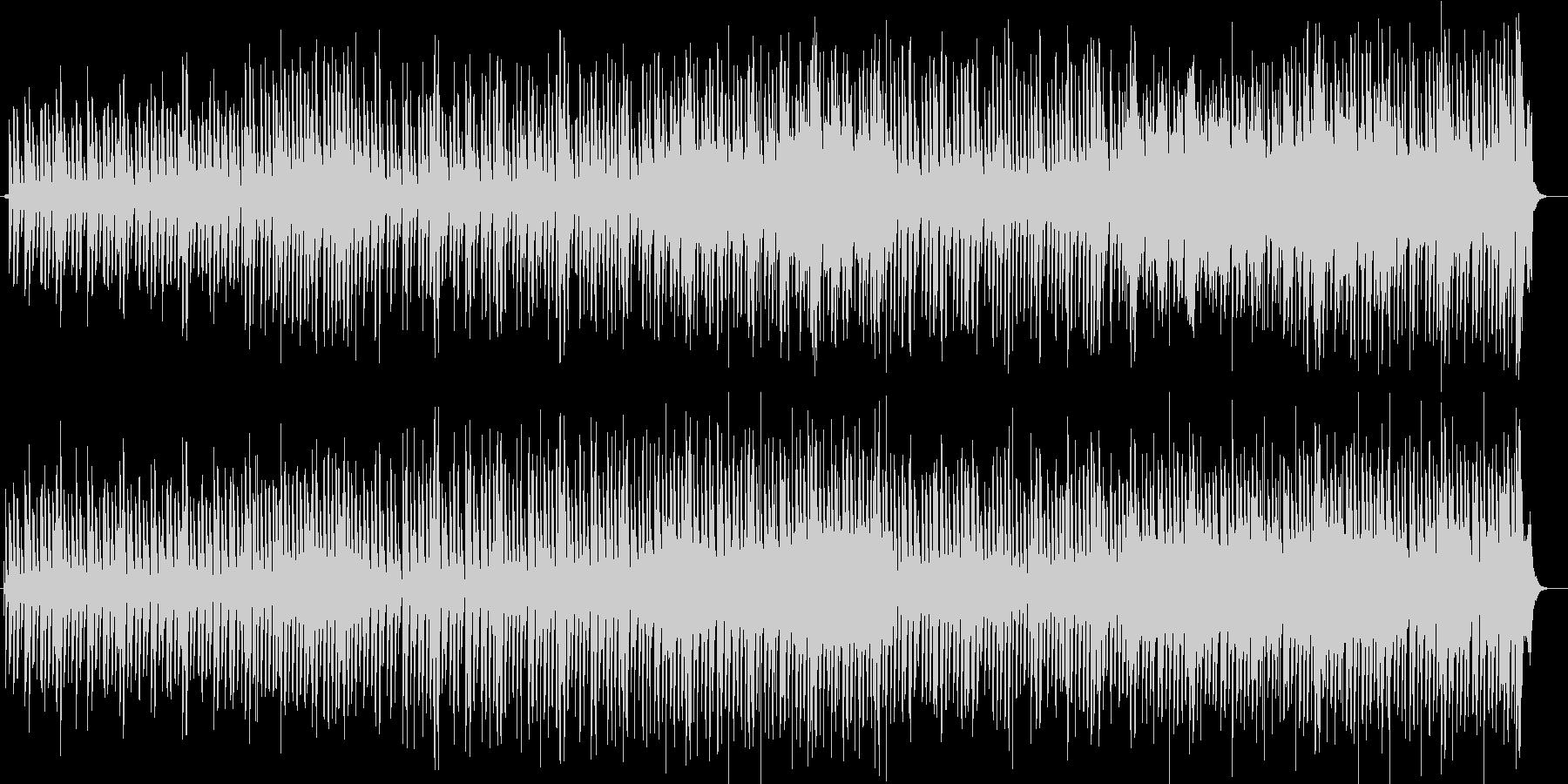 のんびり感のあるシンセ木琴などの曲の未再生の波形