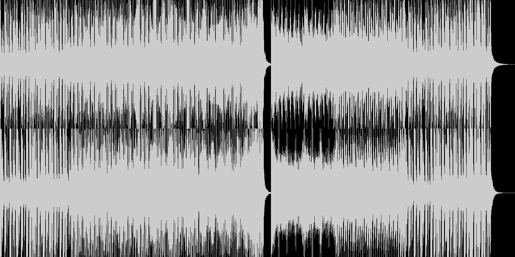 軽快なピアノ曲です。の未再生の波形
