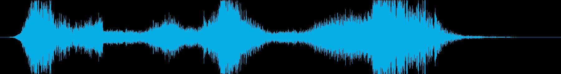 スペル 邪悪な闇02の再生済みの波形