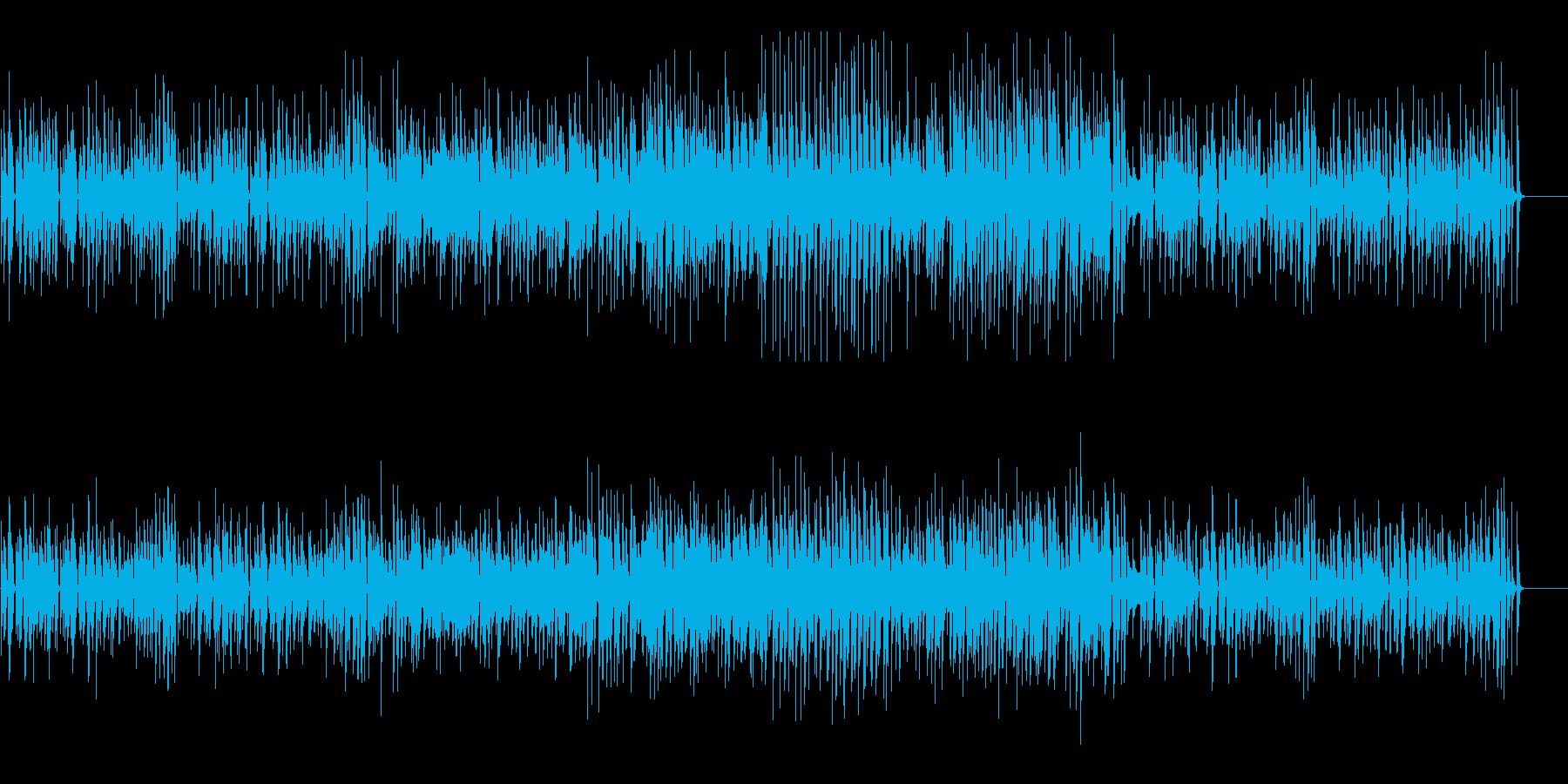 渋くてお洒落な大人のジャズ(ドラム無の再生済みの波形