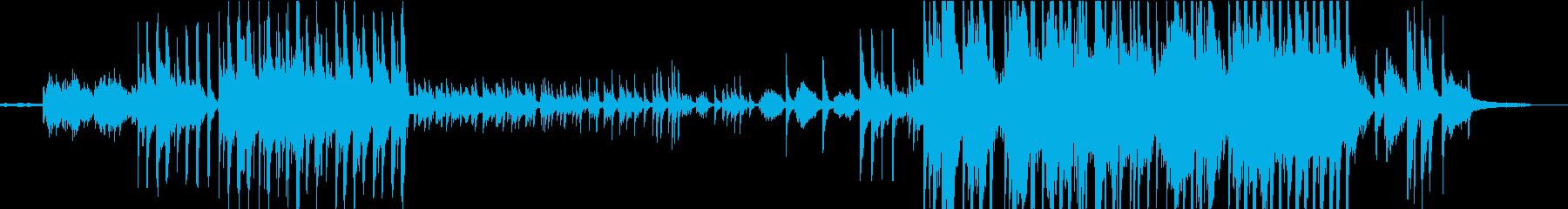 悲しく壮大なニューエイジサウンドの再生済みの波形