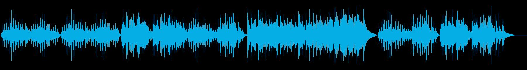 ドヴォルザーク/ユモレスク_ヴァイオリンの再生済みの波形
