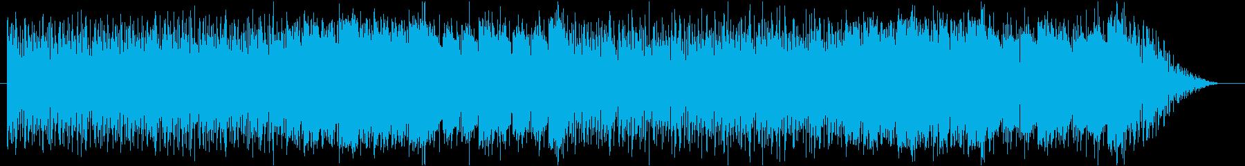 ゲーム・フィールド系モノのループ曲5の再生済みの波形
