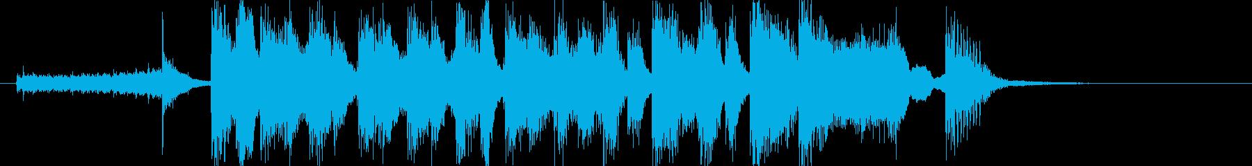 BGM_勝利の小躍りの再生済みの波形