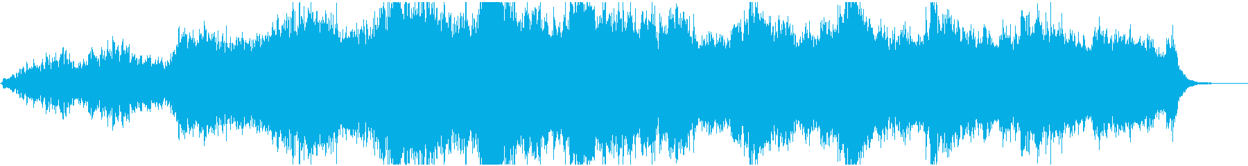 Playing jingle with a sad and shocking atmosphere's reproduced waveform