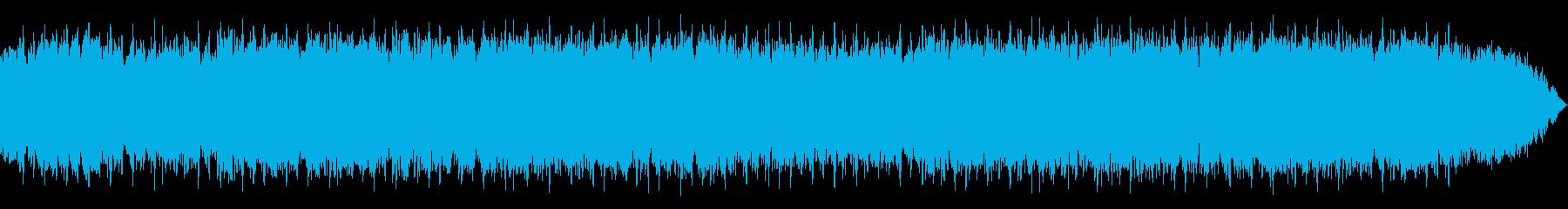 祈りと瞑想の笛のヒーリング音楽の再生済みの波形