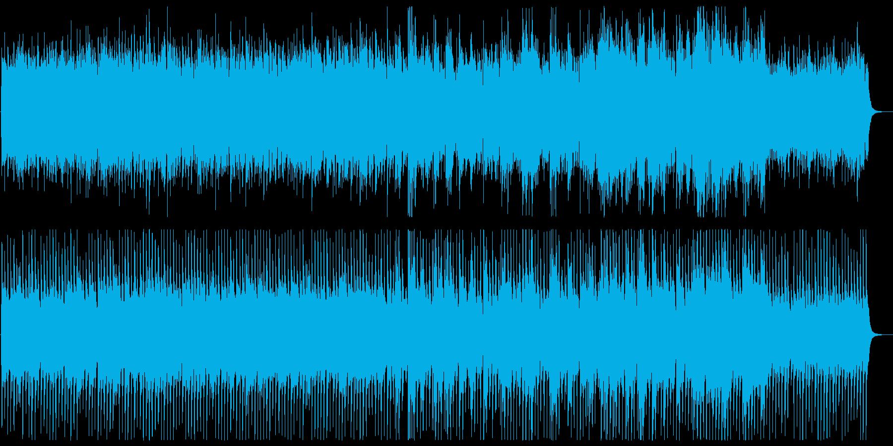 沖縄系ヒーリングBGMの再生済みの波形