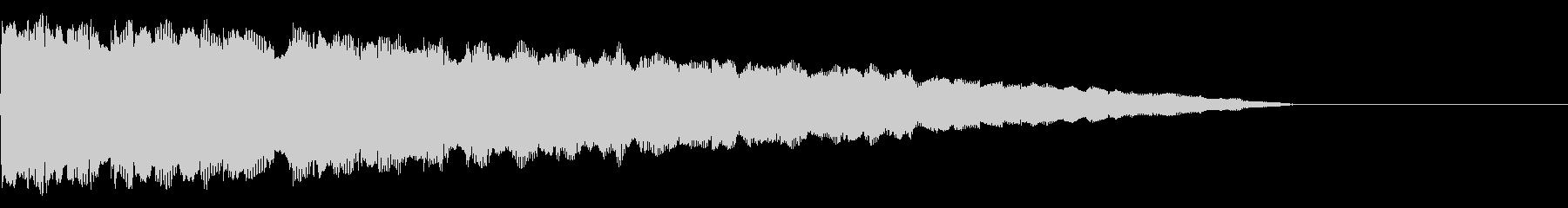 Chip PitchDown 音色S01の未再生の波形