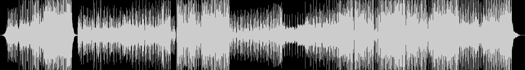 軽快で優しいバウンスミュージック EDMの未再生の波形