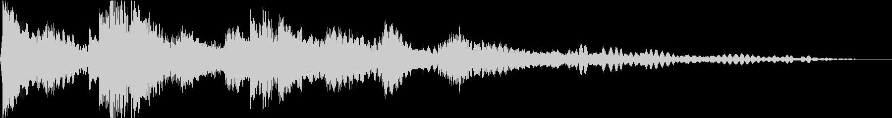 ソロのクラシックピアノ曲。テーマは...の未再生の波形