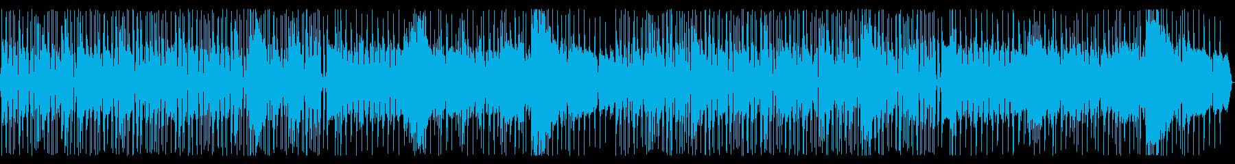 ロック✕和風 疾走感あるBGMの再生済みの波形