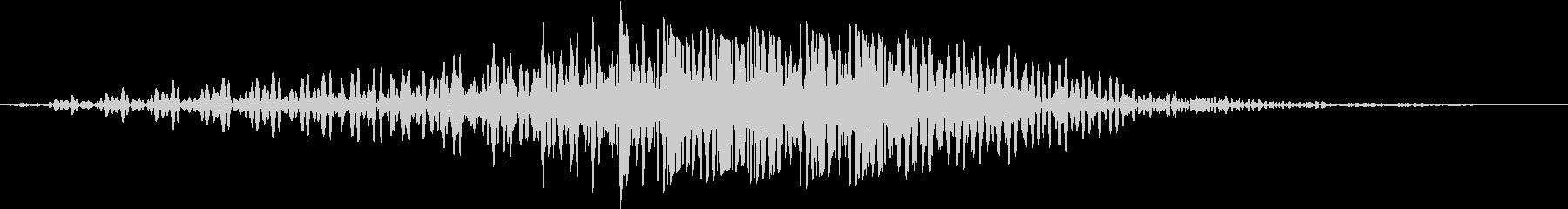 SF通過音02-03の未再生の波形