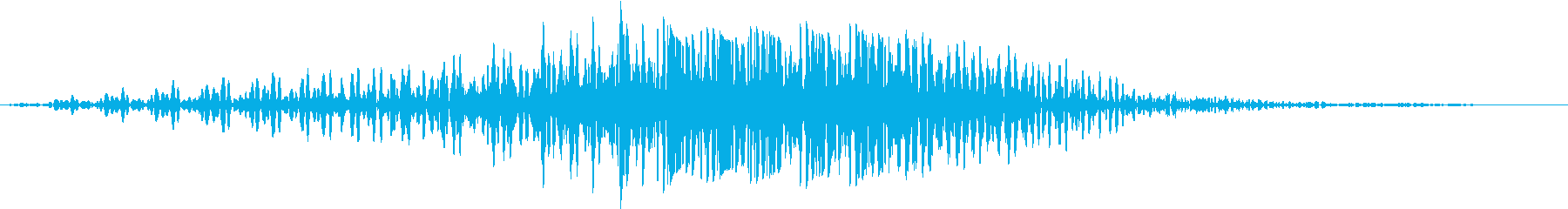 SF通過音02-03の再生済みの波形