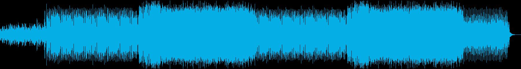 ゲーム実況,キル集で使用されそうなEDMの再生済みの波形
