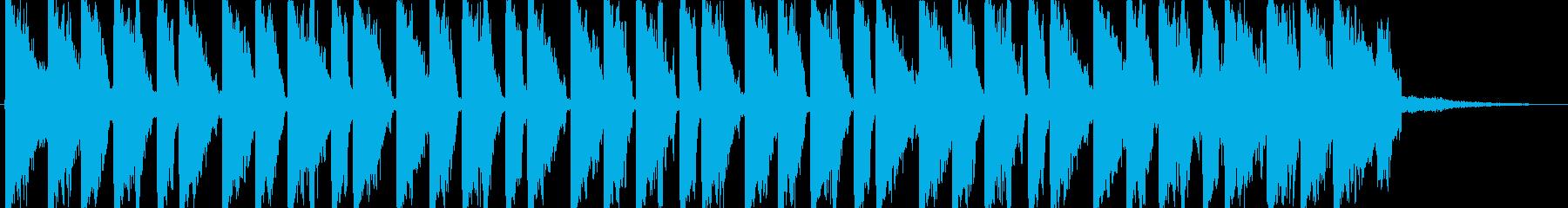 EDM・オシャレ・クラブ系・ジングルの再生済みの波形