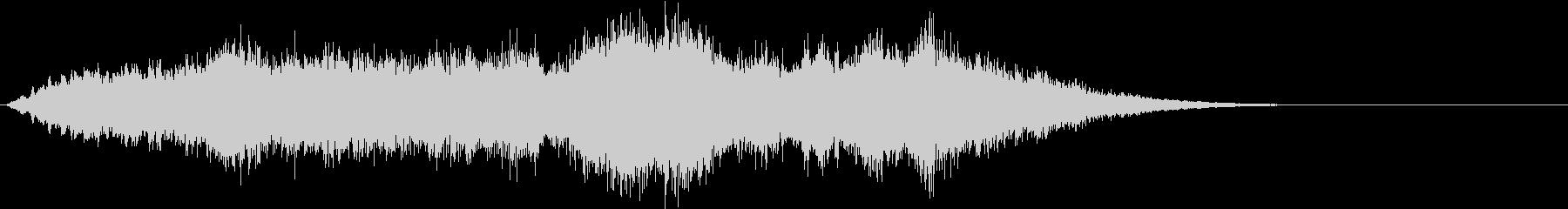 ストリングスの壮大なBGM ジングル等にの未再生の波形