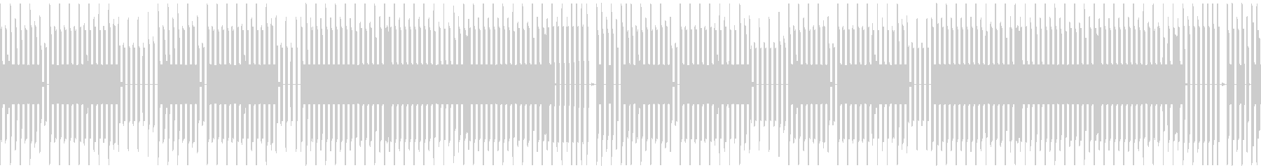 FC風ループ 遺されたモノの未再生の波形