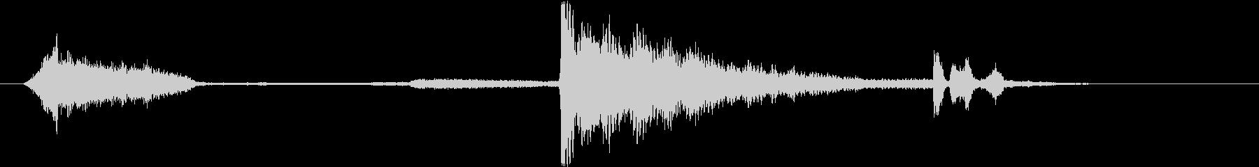 トランジション ヒューシュエア24の未再生の波形