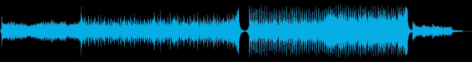 Epic/爽やかでアップリフティングな曲の再生済みの波形