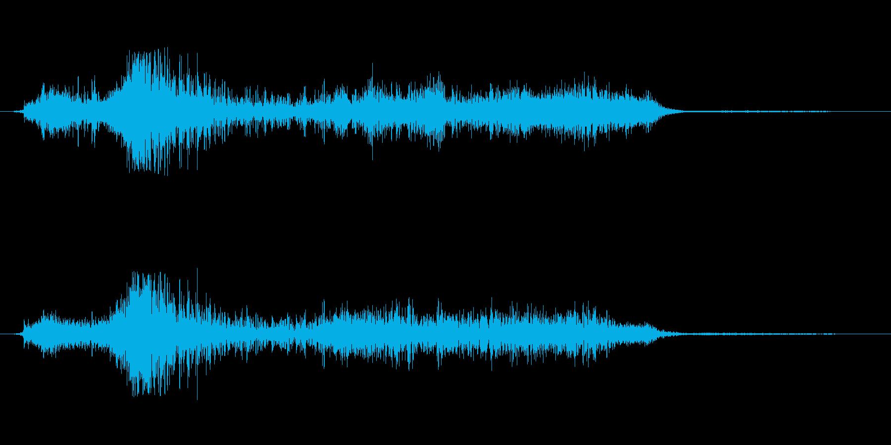 ワープ 個人ジャンプ出発01の再生済みの波形