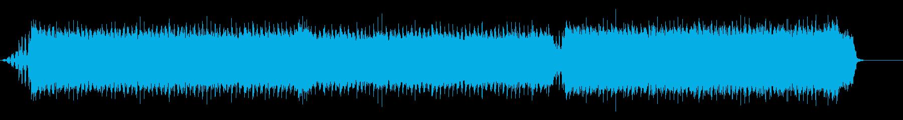 ギター/ストリングス/ファンファーレ01の再生済みの波形