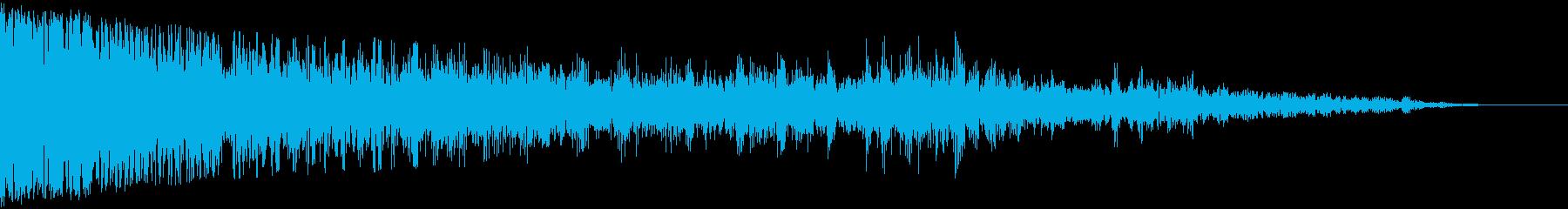 【爆発】 11 バーンッ・・・ 戦争の再生済みの波形