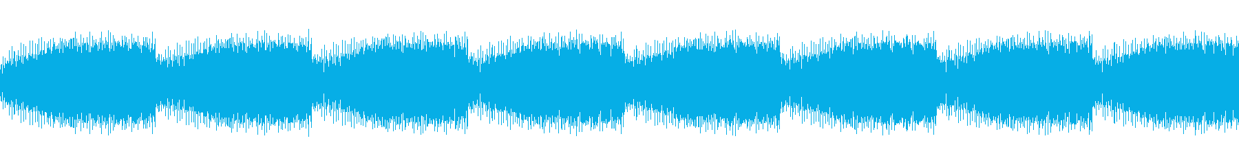 フィールド上の警報音の再生済みの波形