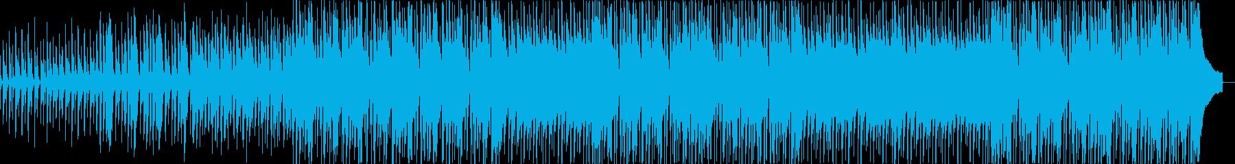 口笛、マリンバ、ほのぼの系日常BGMの再生済みの波形