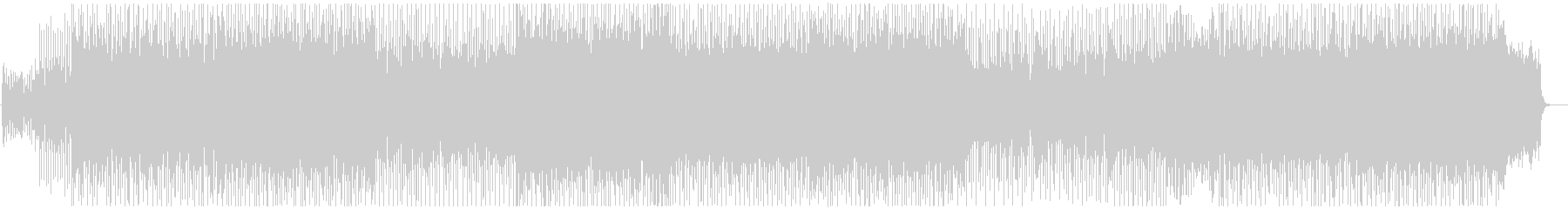 オーケストラロックなバトル風BGMの未再生の波形