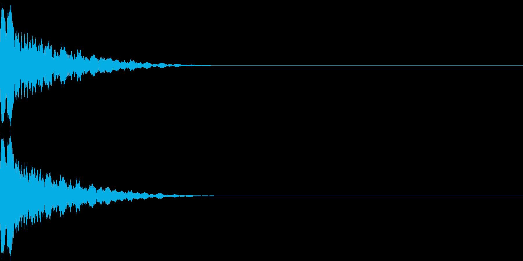 鐘のような鈴のような音色ですの再生済みの波形