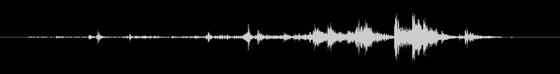 ガチャリ(鍵を拾うときの音)の未再生の波形