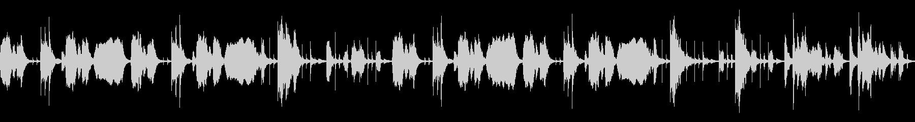 YouTube おとぼけトーク[ループ]の未再生の波形