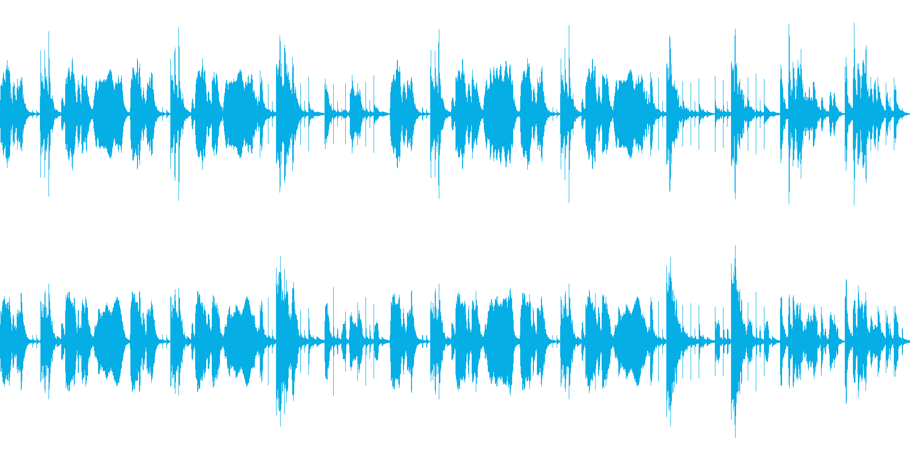 YouTube おとぼけトーク[ループ]の再生済みの波形