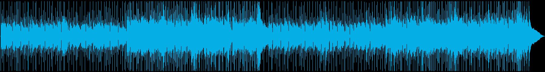 哀愁感漂うロックバラードの再生済みの波形