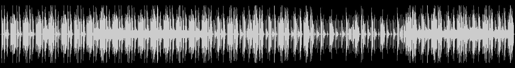 詮索のBGMの未再生の波形