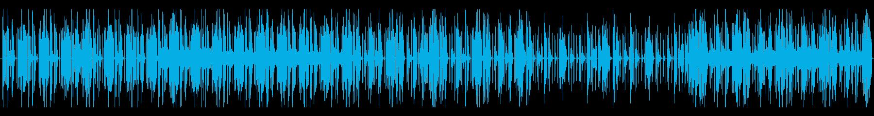 詮索のBGMの再生済みの波形