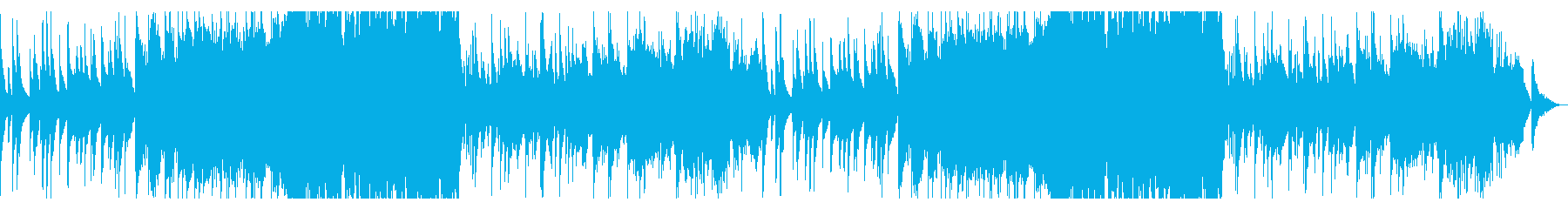 和やかに奏でる中国の楽器のアンサンブルの再生済みの波形