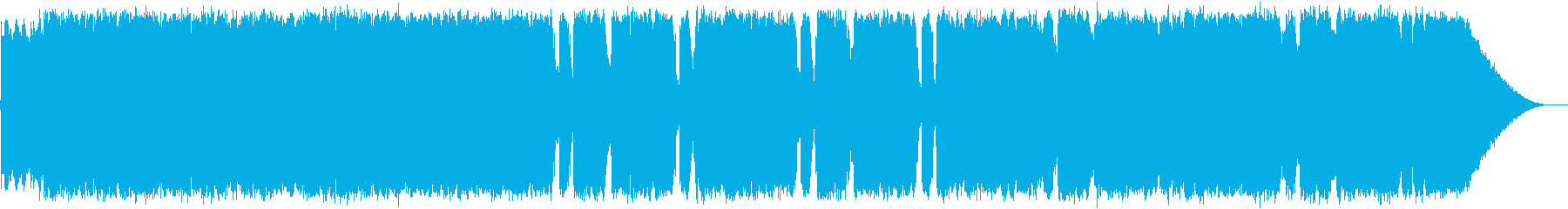 ロックとポップの再生済みの波形