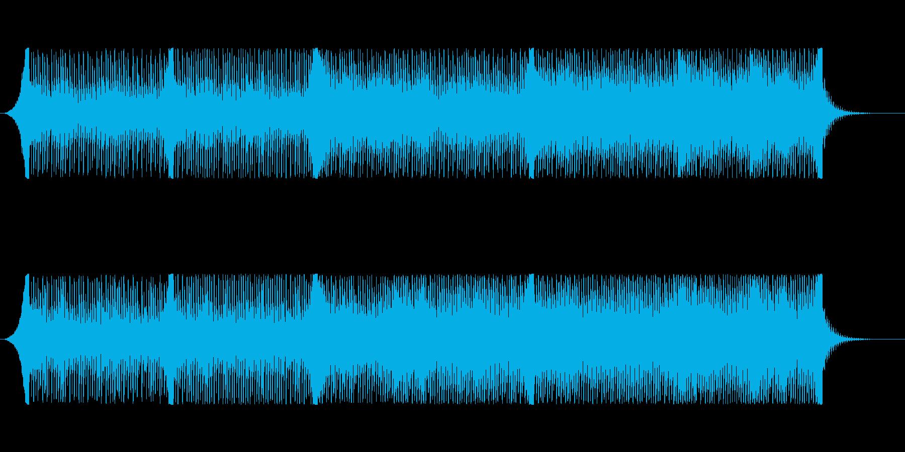 【爽やか】企業VP、ギターとピアノ透明感の再生済みの波形