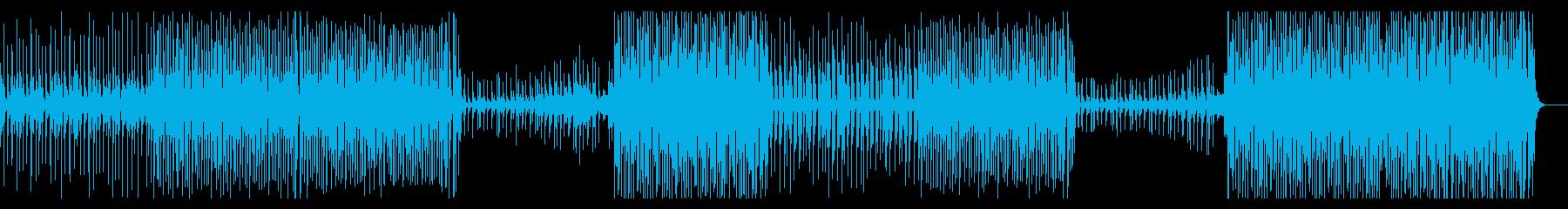 かわいい楽しい!おしゃれトロピカルハウスの再生済みの波形