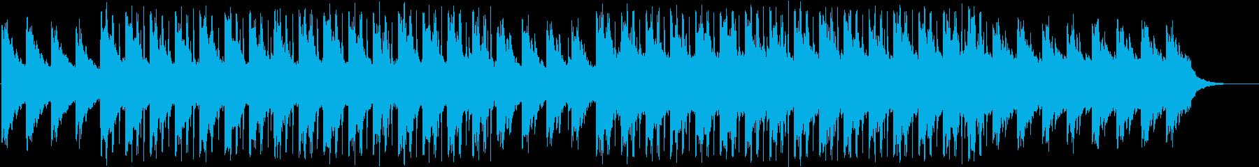 神秘的で切ないチルアウトの再生済みの波形