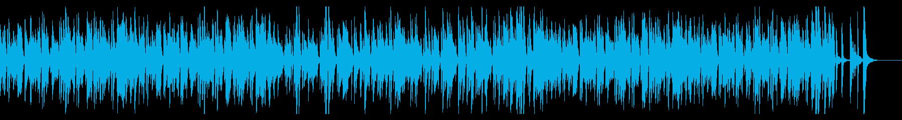 お洒落なジャズピアノトリオ24 ほのぼのの再生済みの波形
