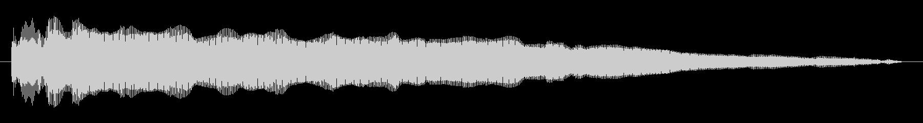 素材 ディジュリドゥジャンプスロー02の未再生の波形