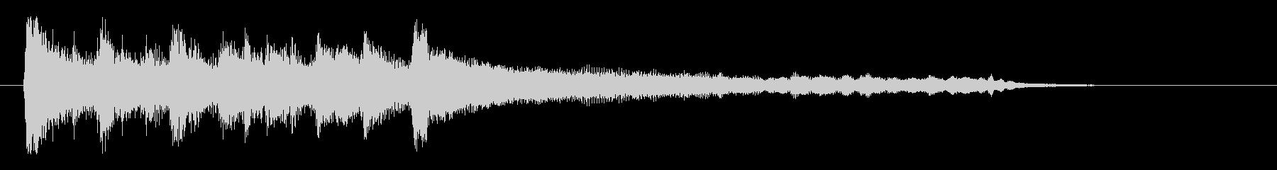 東南アジア風エスニックロゴの未再生の波形