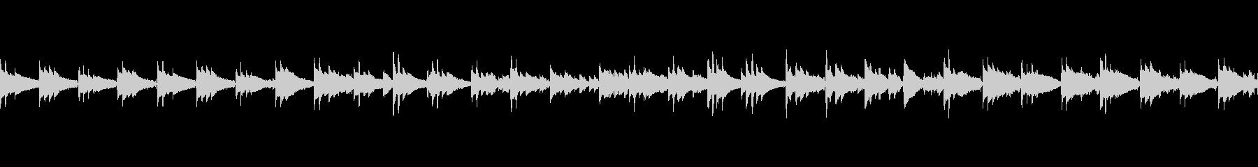 アコギ生演奏 自然を感じる静かなBGMの未再生の波形