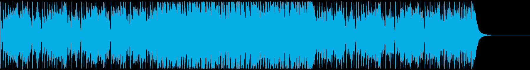 オープニング・夏・リラックス・レゲエの再生済みの波形