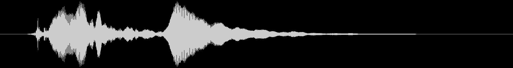 蛇口を捻る 高い音(キリッッ)の未再生の波形
