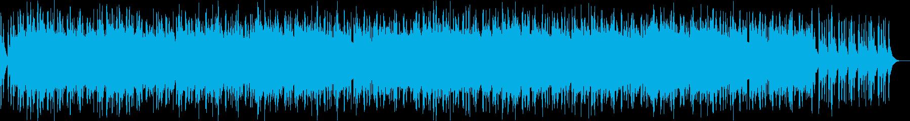 期待感溢れるストリングスBGMの再生済みの波形