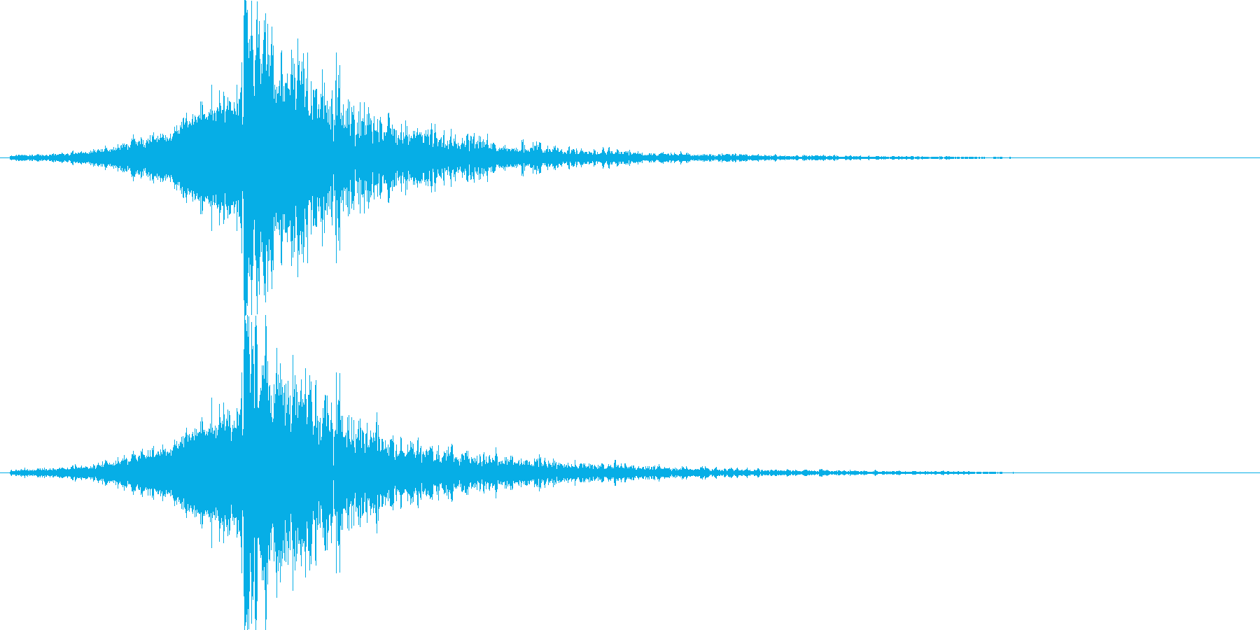 映画告知音142 ドーンの再生済みの波形